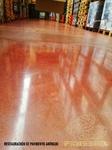 Restauración de pavimentos de hormigón pulido