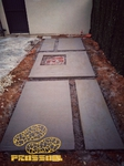 Pavimentos de hormigón decorativo estilo minimalista