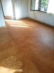 Restauración y teñido de pavimento de hormigón decorativo